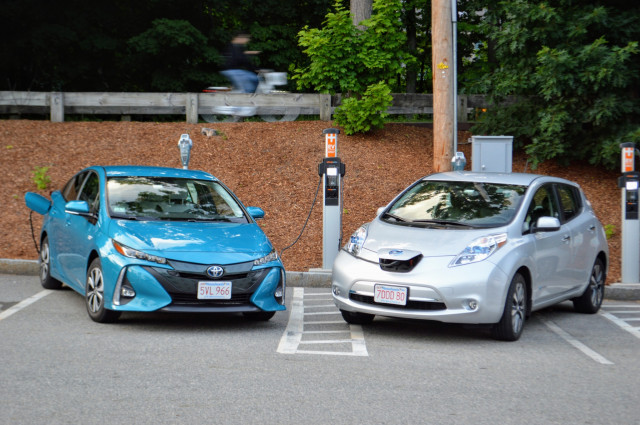 2017 Toyota Prius Prime And Nissan Leaf Belonging To Reader John C Briggs