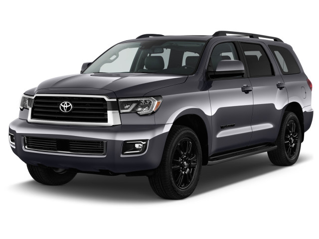 2018 Toyota Sequoia TRD Sport RWD (Natl) Angular Front Exterior View