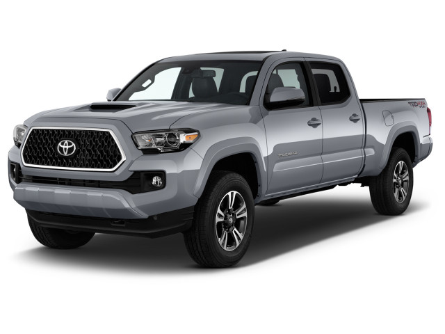 2018 Toyota Tacoma TRD Sport Double Cab 5' Bed V6 4x4 MT (Natl) Angular Front Exterior View