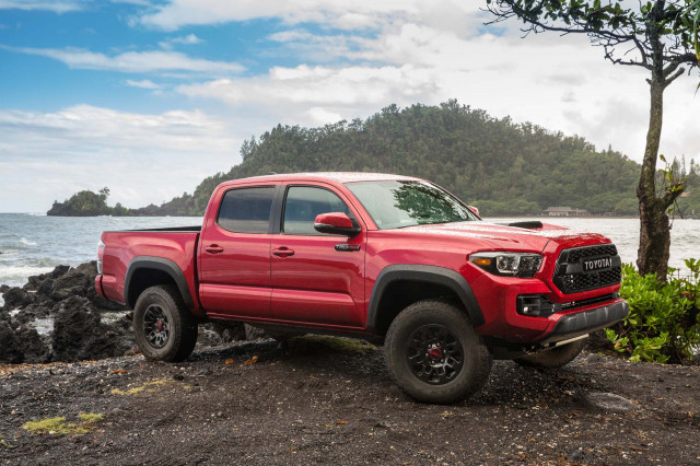 2018 toyota tacoma review ratings specs prices and photos the car connection. Black Bedroom Furniture Sets. Home Design Ideas