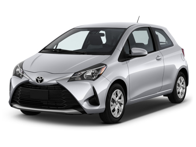 2018 Toyota Yaris 3-Door L Manual (Natl) Angular Front Exterior View