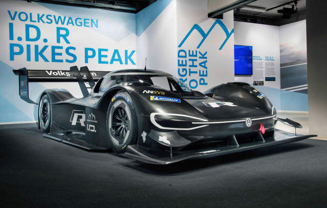 2018 Volkswagen ID R Pikes Peak race car