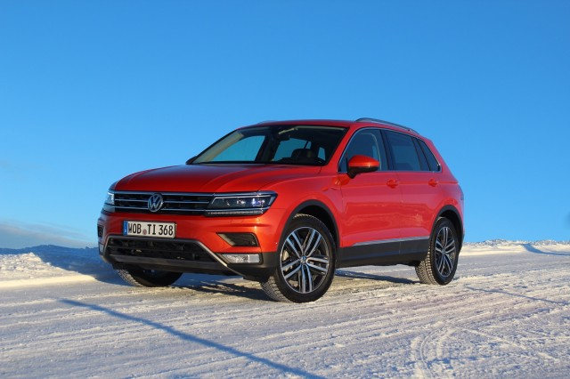 2018 Volkswagen Tiguan (Euro-spec)  -  Preview Drive, January 2016