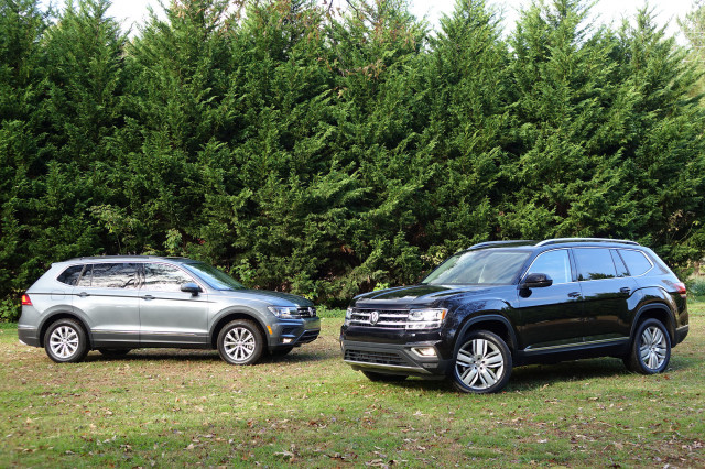 Volkswagen Atlas Vs Volkswagen Tiguan Compare Cars - Vw atlas dealer invoice