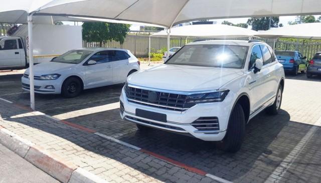 2018 Volkswagen Touareg Polo Leaked