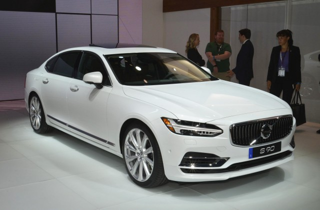 2018 Volvo S90 2017 New York Auto Show