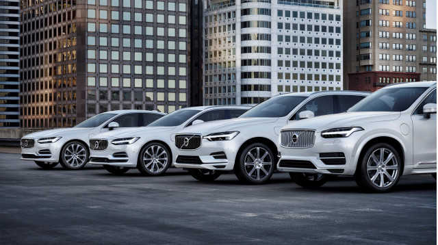 2018 Volvo S90 V90 XC60 and XC90 T8 Twin Engine