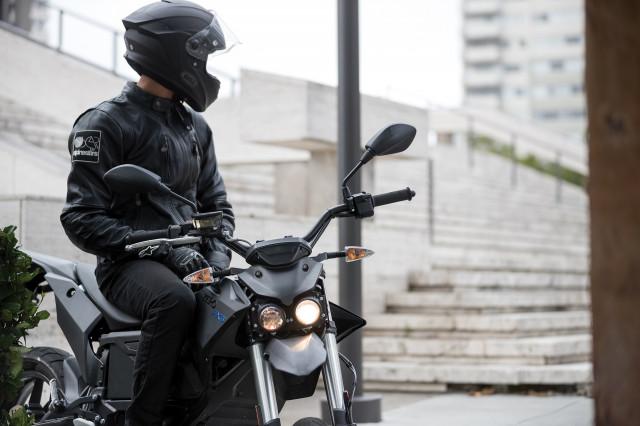 2018 Zero FXS electric motorcycle
