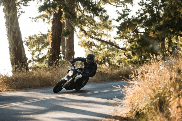 2018 Zero SR electric motorcycle