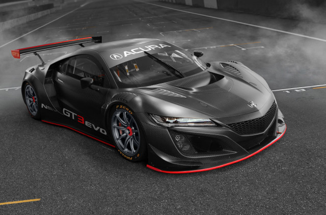 2019 Acura NSX GT3 Evo race car