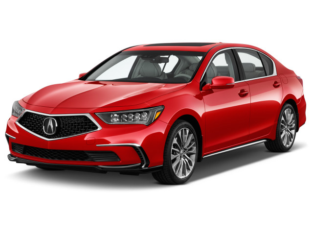 2019 Acura RLX Sedan Sport Hybrid w/Advance Pkg Angular Front Exterior View
