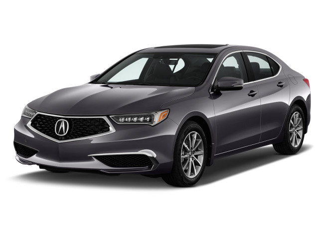 2019 Acura TLX FWD Angular Front Exterior View