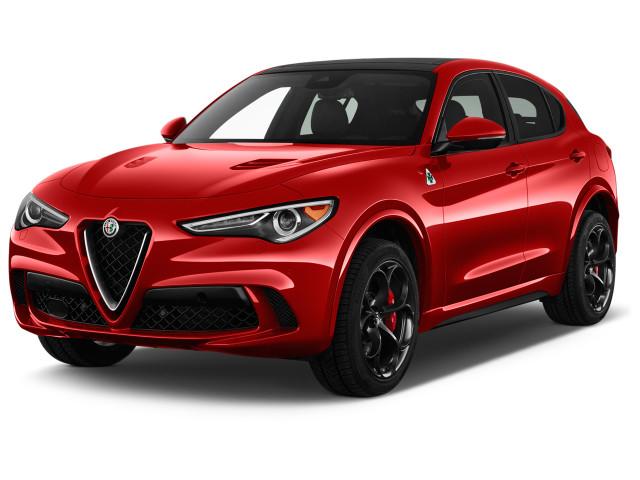 2019 Alfa Romeo Stelvio Quadrifoglio AWD Angular Front Exterior View