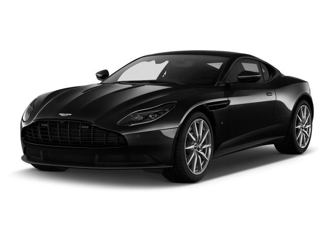 2019 Aston Martin DB11 V12 Coupe Angular Front Exterior View
