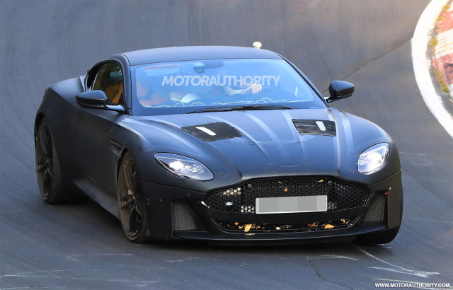 Aston Martin DBS Superleggera teased - June debut
