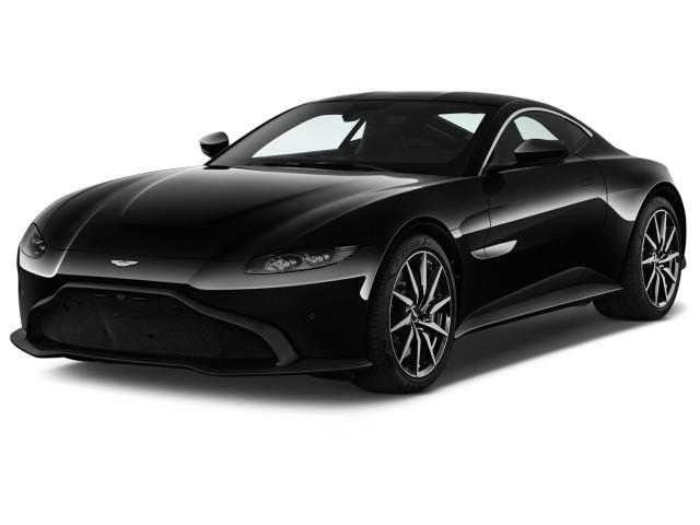 2019 Aston Martin Vantage Coupe Angular Front Exterior View