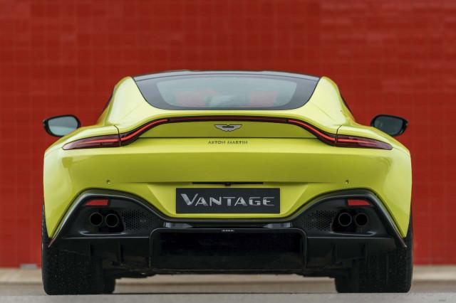 2019 Aston Martin Vantage first drive