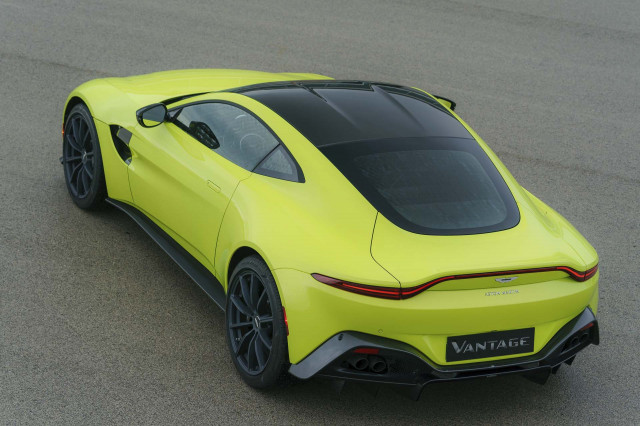 2019 Aston Martin Vantage first drive review: tilting at