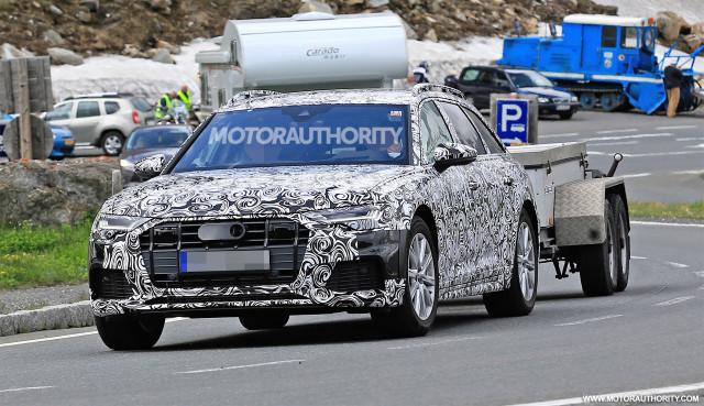 2019 Audi A6 Allroad spy shots - Image via S. Baldauf/SB-Medien