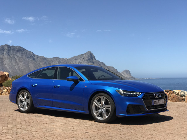 2019 Audi A7, January, 2018 media drive, Cape Town, South Africa