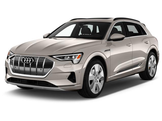 2019 Audi e-tron Premium Plus quattro Angular Front Exterior View