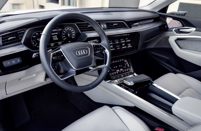 2019 Audi e-tron first drive - Abu Dhabi UAE, December 2018