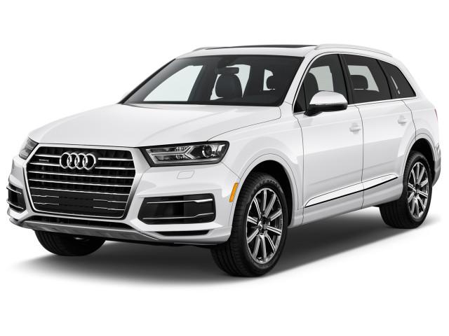 2019 Audi Q7 2.0 TFSI Premium Angular Front Exterior View