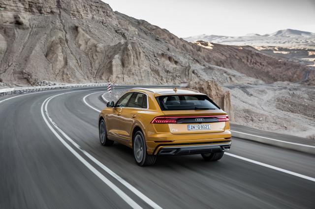 2019 Audi Q8, Atacama Desert, Chili, media drive, June 2018