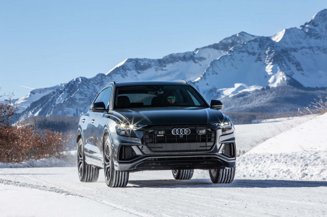2019 Audi Q8 earns five-star crash-test scores