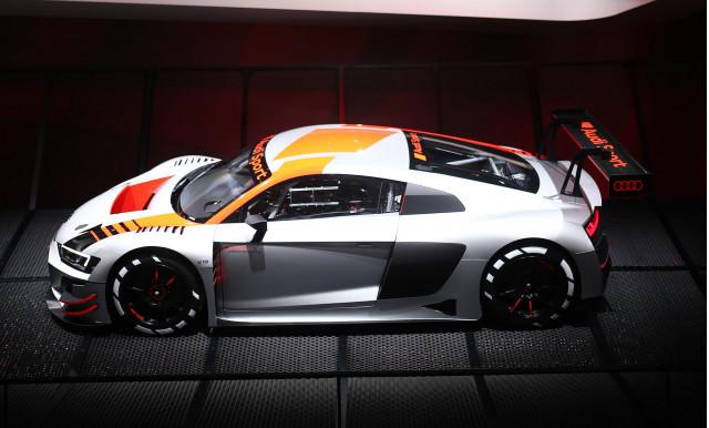 2019 Audi R8 LMS race car, 2018 Paris auto show
