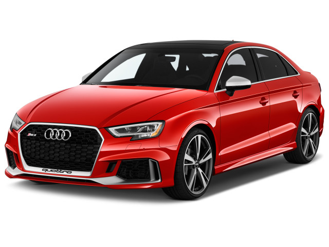 2019 Audi RS 3 2.5 TFSI S Tronic Angular Front Exterior View