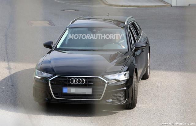 2019 Audi S6 Avant spy shots - Image via S. Baldauf/SB-Medien