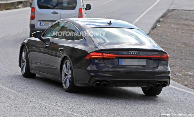 Audi S Spy Shots And Video - Audi s7