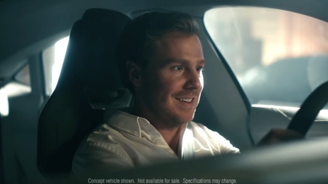"2019 Audi Super Bowl ad, ""Cashew,"" featuring e-tron GT concept"