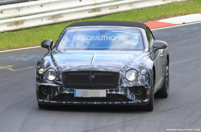 2019 Bentley Continental Gt Convertible Spy Shots