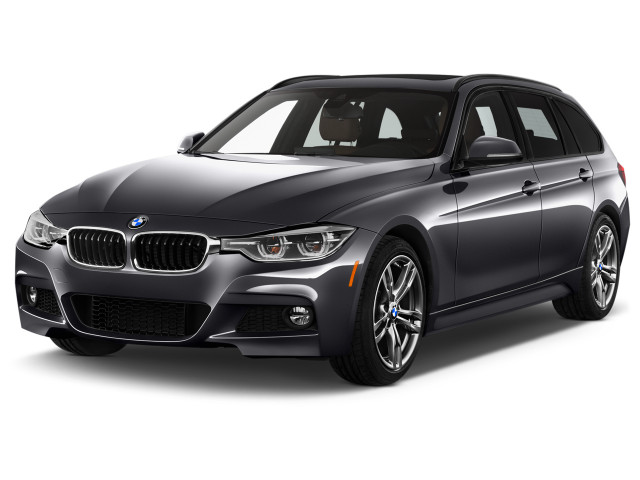 2019 BMW 3-Series 330i xDrive Sports Wagon Angular Front Exterior View
