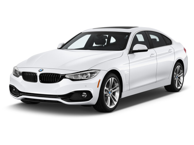 2019 BMW 4-Series 430i Gran Coupe Angular Front Exterior View