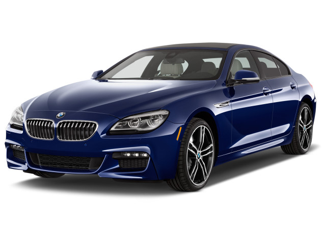 2019 BMW 6-Series 640i Gran Coupe Angular Front Exterior View