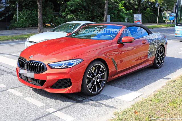 2019 BMW 8 Series Convertible Spy Shots