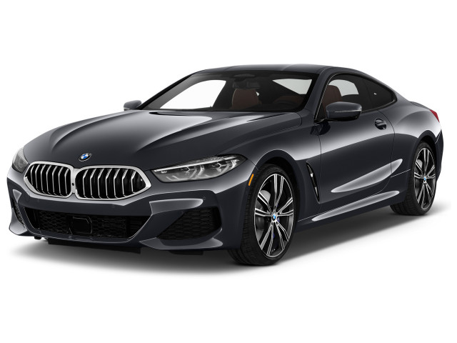 2019 BMW 8-Series M850i xDrive Coupe Angular Front Exterior View