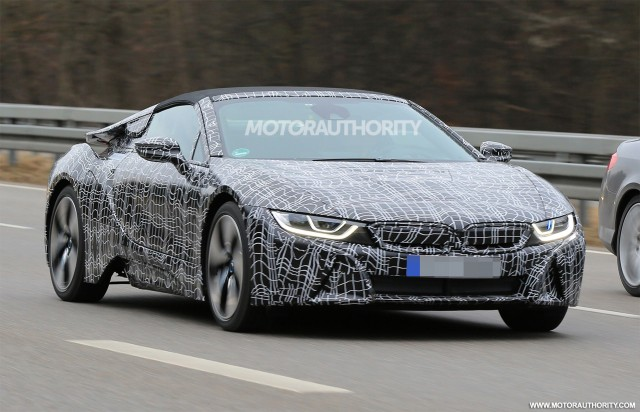 Report Bmw I8 Roadster To Debut At 2017 La Auto Show