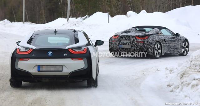 2019 BMW I8 Roadster Spy Shots