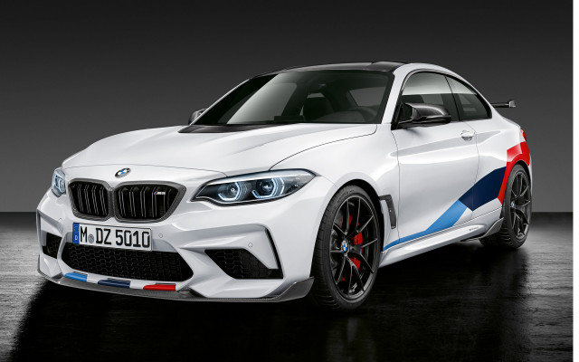 BMW M2 Competition Performance Parts released