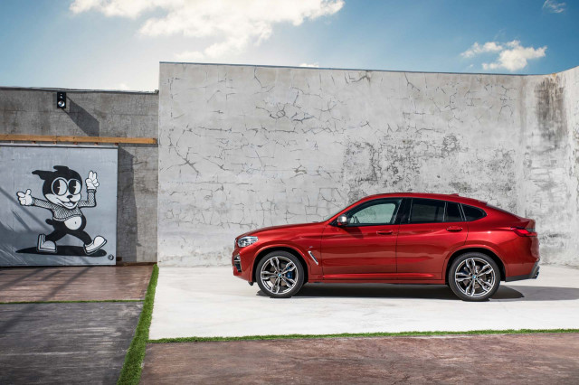 Bmw X Series Differences >> Bumper crop: 2019 BMW X4 luxury crossover revealed