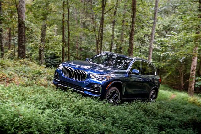 2019 BMW X5 (40i X line)