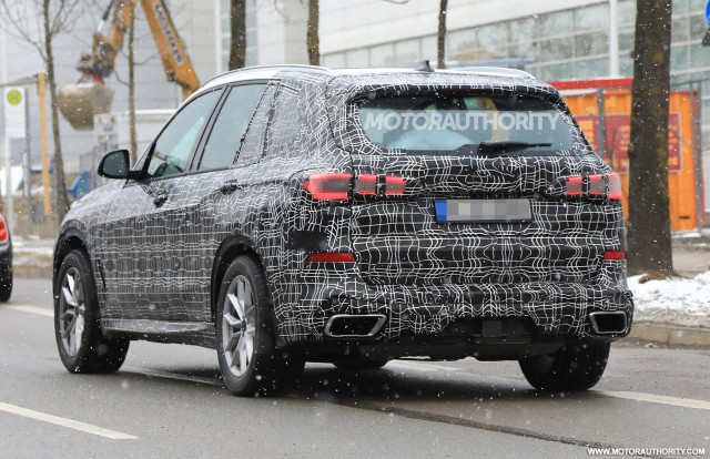 2019 BMW X5 Spy Shots   Image Via S. Baldauf/SB Medien