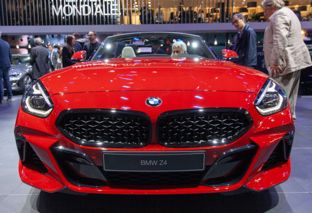 2019 BMW Z4, 2018 Paris auto show