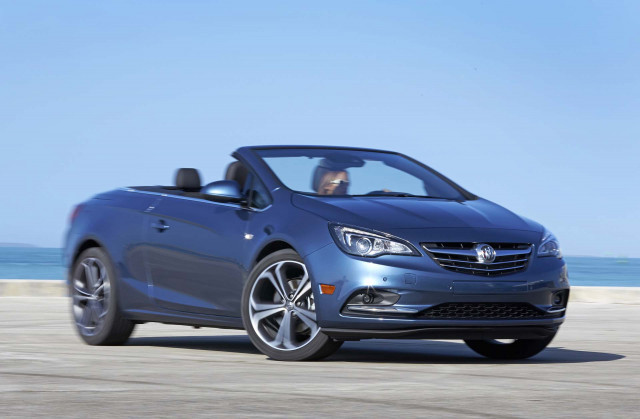 Production shift in Europe could spell end for Buick Cascada