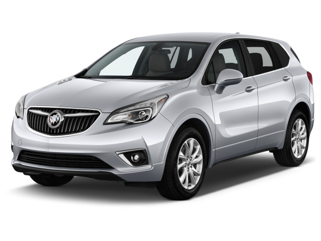 2019 Buick Envision FWD 4-door Preferred Angular Front Exterior View