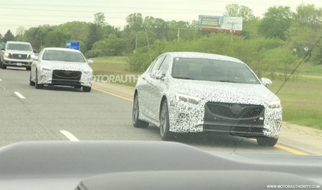2019 Buick Regal Gs Sportback Spy Shots Gallery 1 Motorauthority